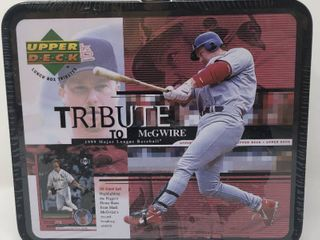 Factory Sealed Mark McGwire 1999 Upper Deck Tribute Complete Trading Card Set   30 Total Cards
