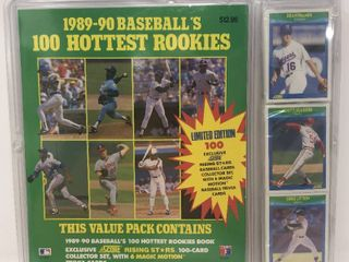 1989 90 Score Factory Sealed Complete 100 Baseball Card Set including Ken Griffey Jr Rookie Card