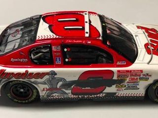 New In Box Dale Earnhardt Jr 1 24 Diecast Car  8 2001 Monte Carlo Clear Window Bank MlB All Star Game 1 of 3 504