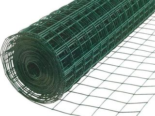 allFENZ 4 ft  x 50 ft  16 Gauge Green PVC Coated Welded Wire   MSRP  41 99