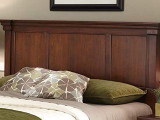 HOMESTYlES The Aspen Collection Cherry King California King Headboard   FRAME ONlY   MISSING PIECES