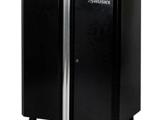 Husky 36 in  H x 30 in  W x 19 25 in  D Deluxe Steel Garage Base Cabinet in Black  1 Piece