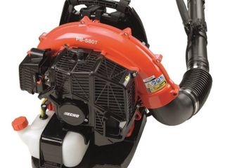 ECHO 216 MPH 517 CFM 58 2cc Gas 2 Stroke Cycle Backpack leaf Blower with Tube Throttle   MSRP  329 00