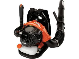 ECHO 158 MPH 375 CFM 25 4 cc Gas 2 Stroke Cycle Backpack leaf Blower with Hip Throttle   MSRP  279 99