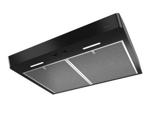 Broan NuTone Mantra 36 in  Convertible Under Cabinet Range Hood with light in Black Stainless   MSRP  283 50