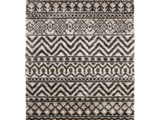 Safavieh Bazaar Anissa Cream Slate 8 ft  x 10 ft  Global Polypropylene Area Rug   MSRP  182 33