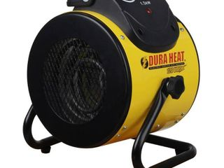 DuraHeat 1500 Watt Portable Electric Space Heater with Pivoting Base   MSRP  55 13