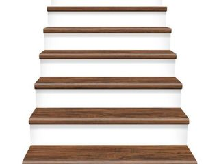 Cap A Tread Highland Hickory 47 in  length x 12 1 8 in  Deep x 1 11 16 in  Height laminate to Cover Stairs 1 in  Thick   MSRP  49 99