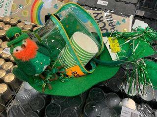 St  Pat Bundle  tat sleeve  Bird  fanny pack  headband  napkins and cups