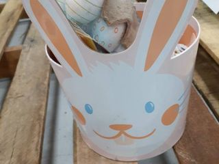 Medium Filled Easter Basket Stickers  Chalk  Colorable eggs  Grow ladybugs  Rabbit  Shape bands