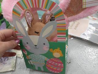 Small Easter bag with Bunny and bunny Ears