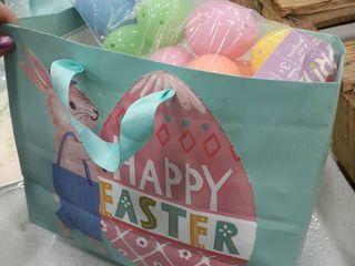 Easter Gift Bag  Tutu with bunny tail  Eggs  Grow ladybugs  Drawstring bag  Grass