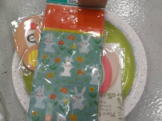 Easter Plates  Napkins  Treat Bags  Place Cards