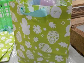 Easter Gift Bag Stationary Kit  Eggs  Grass  Putty
