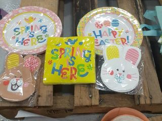 Easter Plates and Napkins