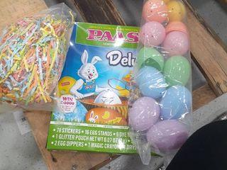 Easter Eggs  Egg Dying Kit  Grass