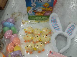 Easter lot  Egg Dyeing Kit  Bunny Ears  Banner  Eggs  Finger Pullets
