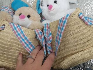 Easter Purses with Bunnies