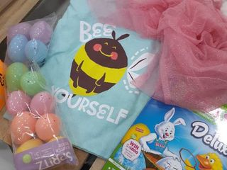 Easter Bag with Tutu  Eggs  Egg Dyeing Kit