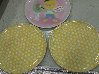 Three Easter Plates