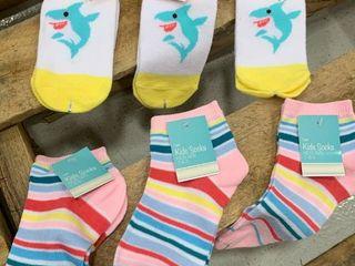 little Kid Sock Bundle Size 7 8 5