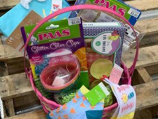 Pink Kid Basket  includes wet dry bag