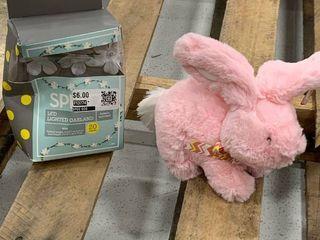 lighted Garland   Bunny Bundle