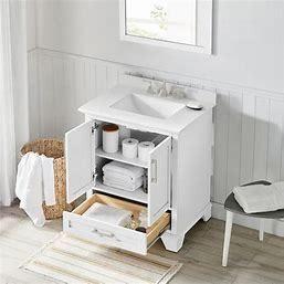 allen   roth 2 Cabinet 2 Drawer Vanity