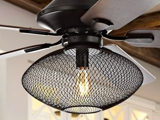 Clift 1 light Mid Century lED Ceiling Fan by JONATHAN Y