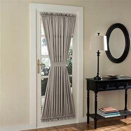 Porch  amp  Den Inez Patio Door Window Curtain Panels Set of 2