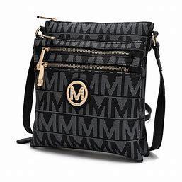 MKF Collection Destiny M Signature Crossbody Bag by Mia K