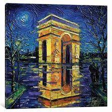 iCanvas Arc de Triomphe Paris Painting