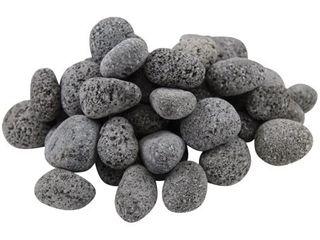 20lB Black lava Pebbles