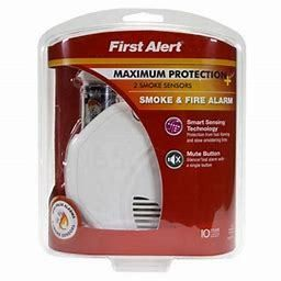 First Alert Smoke and Fire Alarm 3 Pack