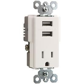 legrand Pass and Seymour 2 USB 2 1A Chargers
