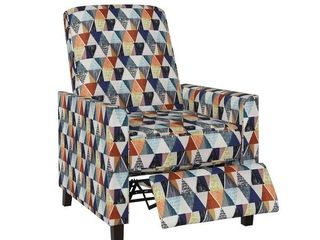 Copper Grove Button Tufted Push Back Recliner