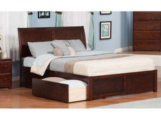 Atlantic Furniture Portland Platform King Bed Footboard