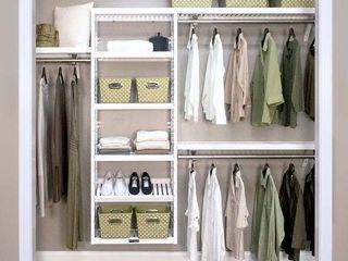 John louis Home Woodcrest Solid Wood Premier Closet Organizer