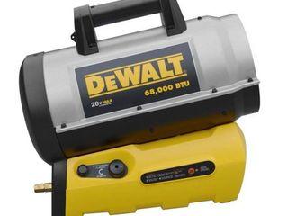 DeWalt Portable Jobsite Cordless Forced Air Propane Heater