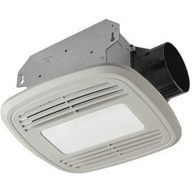 Utilitech 1 5 Sones 80 CFM Bathroom Fan Room light