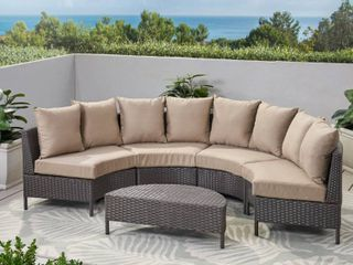 Noble House Outdoor Patio Sectional
