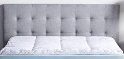 lucid Comfort Collection Gel Memory Foam Queen Topper