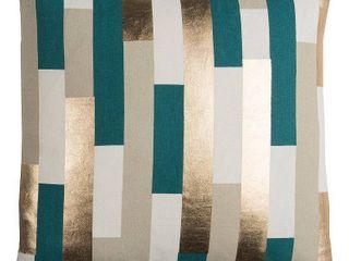 Rachel Kate by Rizzy Home Cotton Casement Decorative Throw Pillow