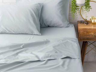 Porch  amp  Den Marseilles Soft Finish Cotton Percale King Bed Sheet Set