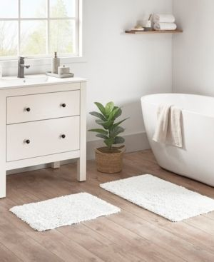 Madison Park Elements Organic Cotton 2 Piece Bath Rug Set