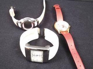 3 assorted women s wristwatches