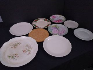 lot of 8 assorted decorative plates