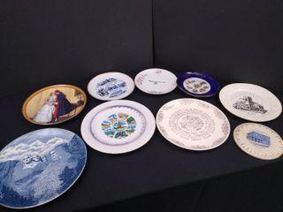 lot of 10 decorative plates