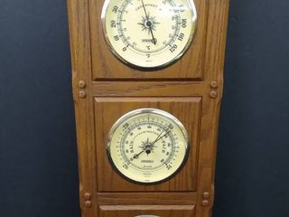3 in 1 barometer  thermometer and humidity gauge