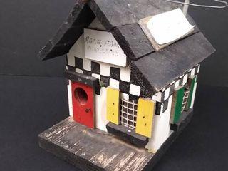 Racing shack birdhouse